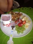 Zac's breakfast
