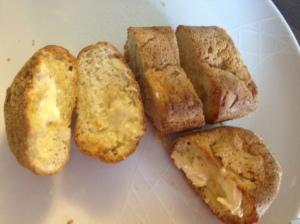 home made garlic bread