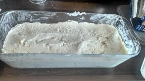 Bread dough - ready to prove