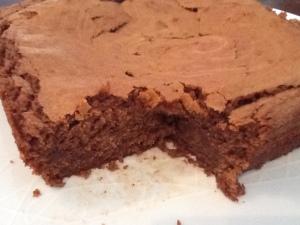 A very chocolatey brownie